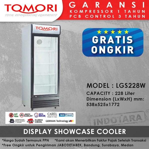 Lemari Pendingin Showcase Cooler LGS228W 228 LITER