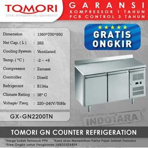Undercounter Refrigerator Kulkas Mini TOMORI - GX-GN2200TN