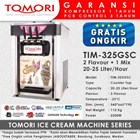 Mesin Pembuat Es Krim 3 Tuas (Rainbow Ice Cream) TOMORI TIM-325GSC 1