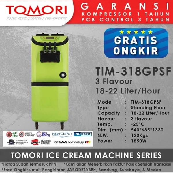 Ice cream Machine TIM-318 GPSF Tomori