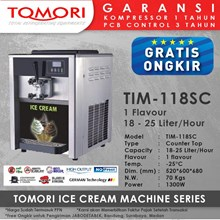 Ice Cream Machine 1 Tuas TIM-118SC TOMORI