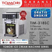 Ice Cream Machine 3 Handle TOMORI TIM-318SC