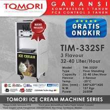 Ice Cream Machine 3 Handle TOMORI TIM-332SF