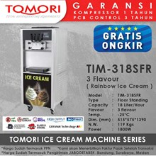 Mesin Pembuat Es Krim 3 Tuas (Rainbow Ice Cream) TOMORI TIM-318SFR