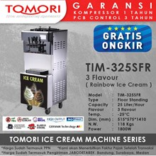 Mesin Pembuat Es Krim 3 Tuas (RAINBOW ICE CREAM) TOMORI TIM-325SFR