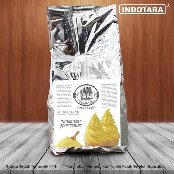 Bubuk Es Krim Soft Cammello - THAILAND JACKFRUIT - 1.1kg - MEDAN