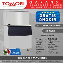Mesin pembuat Es Kubus - Tomori AC Series Ice Make