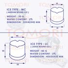 Mesin Pembuat Es Silinder EC-65 TOMORI EC SERIES 6