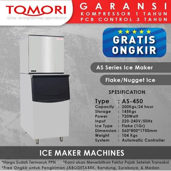 TOMORI ICE FLAKE Maker AS-450