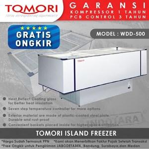 Pendingin Makanan Island Freezer WDD-500 500L 1645x735x890