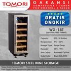 Mesin Penyimpan Wine Tomori Wine Storage Steel WX-18T 1