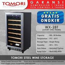 Mesin Penyimpan Wine Tomori Wine Storage Steel WX-28T
