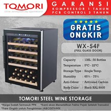 Mesin Penyimpan Wine Tomori Wine Storage Steel WX-54F