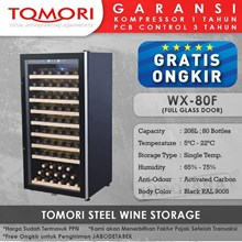 Wine Cooler Tomori Wine Storage Steel WX-80F