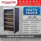 Mesin Penyimpan Wine Tomori Steel Wine Storage WX-80T 1