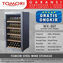Tomori Steel Wine Storage WX-80T