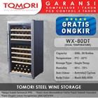 Mesin Penyimpan Wine Tomori Wine Storage Steel WX-80DT 1