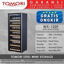 Mesin Penyimpan Wine Tomori Wine Storage Steel WX-120F