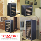 Mesin Penyimpan Wine Tomori Wine Storage Steel WX-120T 6