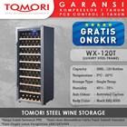 Mesin Penyimpan Wine Tomori Wine Storage Steel WX-120DT 1