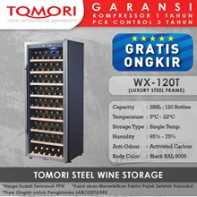 Mesin Penyimpan Wine Tomori Wine Storage Steel WX-120DT