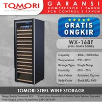 Mesin Penyimpan Wine Tomori Wine Storage Steel WX-168F