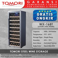 Mesin Penyimpan Wine Tomori Wine Storage Steel WX-168T