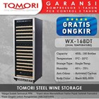 Mesin Penyimpan Wine Tomori Wine Storage Steel WX-168DT 1