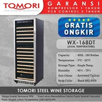 Mesin Penyimpan Wine Tomori Wine Storage Steel WX-168DT