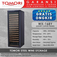 Mesin Penyimpan Wine Tomori Steel Wine Storage WX-168Y