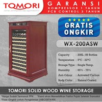 Mesin Penyimpan Wine Tomori Wine Storage Wood WX-200ASW