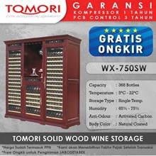Tomori Wine Storage Wood WX-750SW