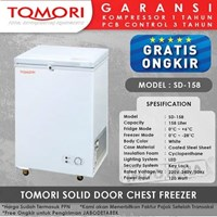 TOMORI SOLID DOOR CHEST FREEZER SD158
