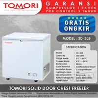 TOMORI SOLID DOOR CHEST FREEZER SD308