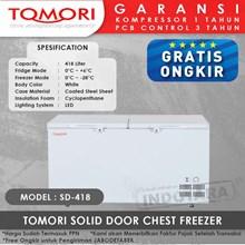 TOMORI SOLID DOOR CHEST FREEZER SD418
