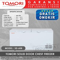 TOMORI SOLID DOOR CHEST FREEZER SD608