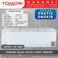 TOMORI SOLID DOOR CHEST FREEZER SD1688