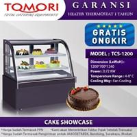 TOMORI Mesin Showcase Cake TCS-1200