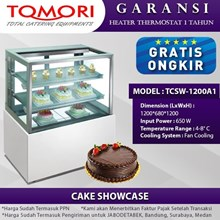TOMORI Mesin Showcase Cake TCSW-1200A1