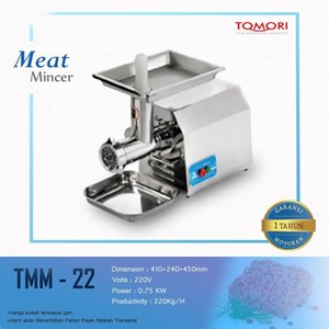 Mesin Pengiris Daging - TOMORI MEAT MINCER TMM-22