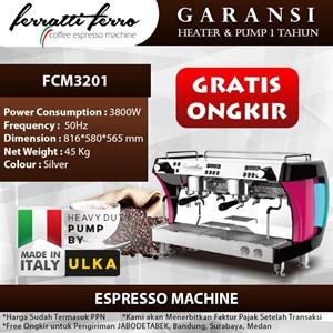 Dari Mesin Kopi Espresso Mesin Kopi Ferratti Ferro FCM3201 0