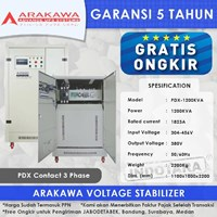 Stabilizer Arakawa PDX 3 Phase PDX-1200KVA