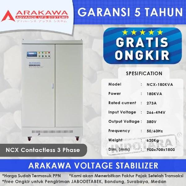 Stabilizer Arakawa NCX 3 Phase NCX-180KVA