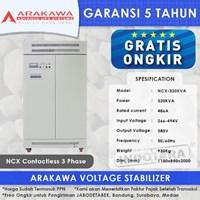 Stabilizer Arakawa NCX 3 Phase NCX-320KVA