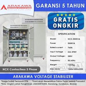 Stabilizer Arakawa NCX 3 Phase NCX-500KVA