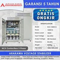 Stabilizer Arakawa NCX 3 Phase NCX-1200KVA