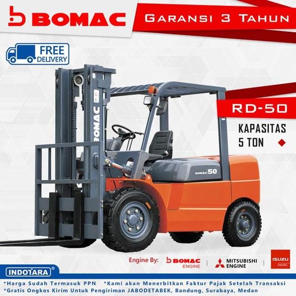 Bomac Forklift Diesel 5T RD50A-MS6S 7980Kg