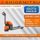 Shigemitsu Semi-Electric Pallet Truck MP15W-E 1