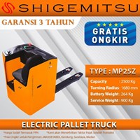 Shigemitsu Central Ride Pallet Truck MP25Z