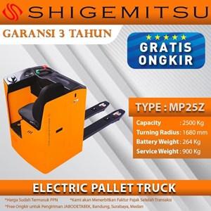 Shigemitsu Central Ride Pallet Truck MP25Z